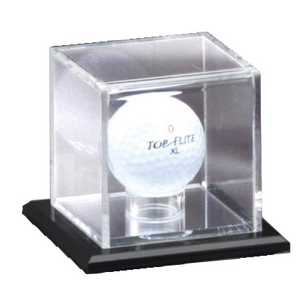 MIRRORED DISPLAY CASE - GOLF