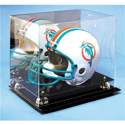 MIRRORED DISPLAY CASE - HELMET
