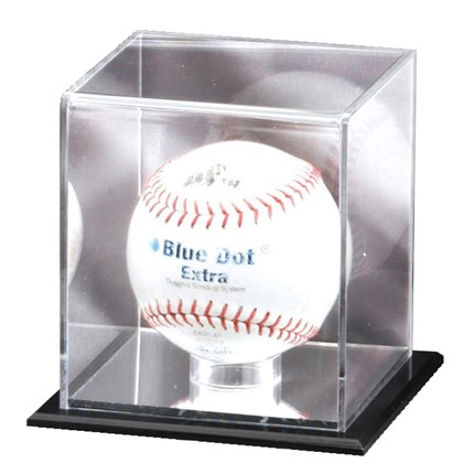 MIRRORED DISPLAY CASE - SOFTBALL