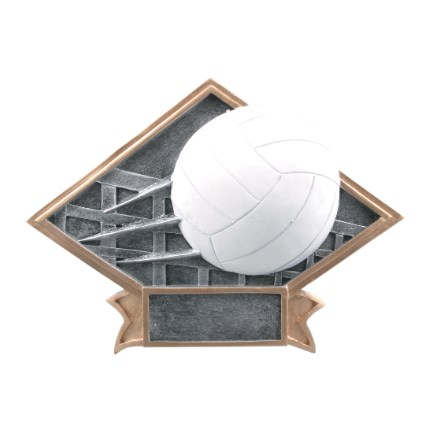 Diamond Plate Resins - Volleyball