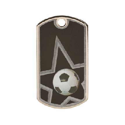 Star Dog Tags Series - Soccer
