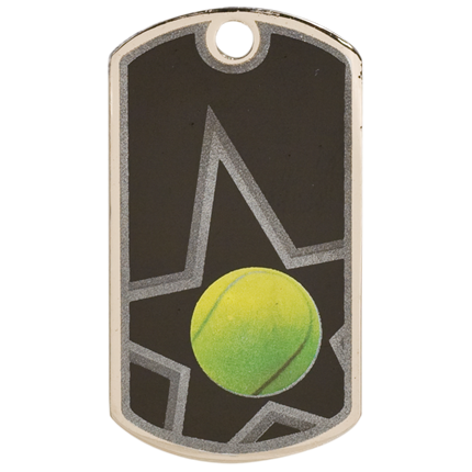 Star Dog Tags Series - Tennis