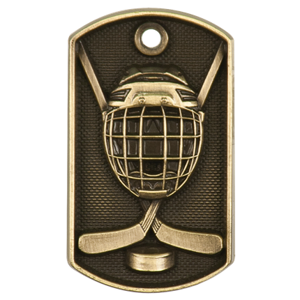 3d Dog Tags Series - Hockey