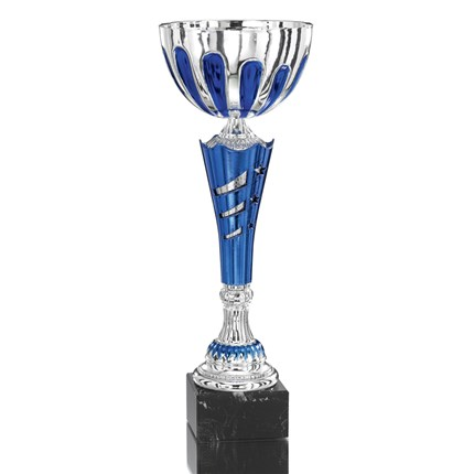 Ec-1515 Blue And Silver Series - Full-Metal Cup