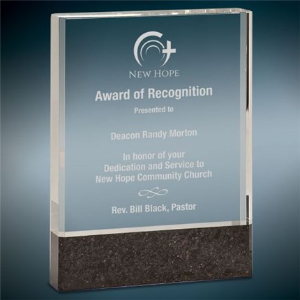 Clear Fusion Crystal Recognition Award Series