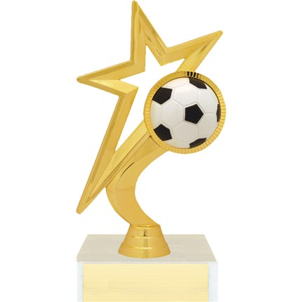 Gold Star Figure Trophy Series - Soccer