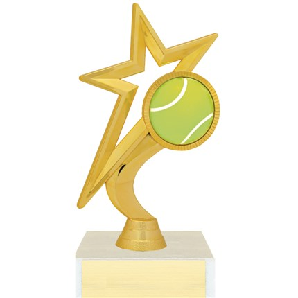 Gold Star Figure Trophy Series - Tennis