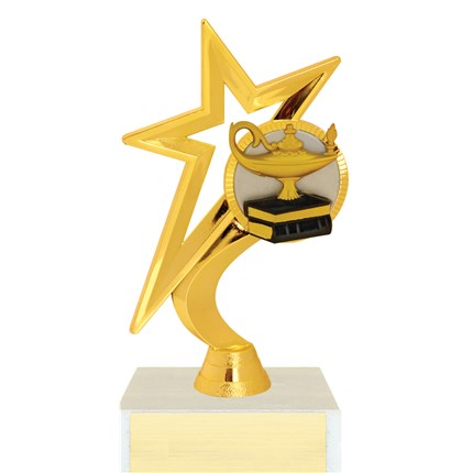 Gold Star Figure Trophy Series - Academics