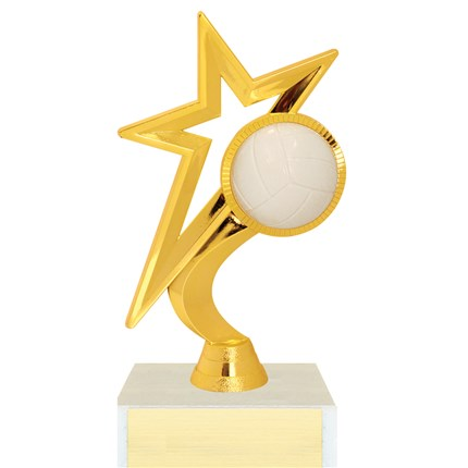 Gold Star Figure Trophy Series - Volleyball
