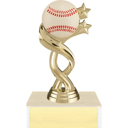 Twisted Sport Figure Trophy Series - Baseball