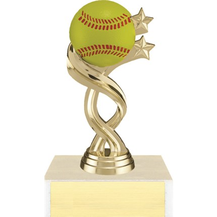 Twisted Sport Figure Trophy Series - Softball