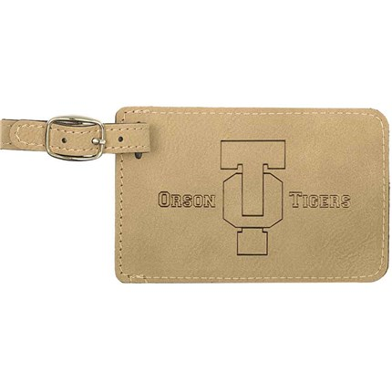 LASERABLE LEATHERETTE ITEMS - BAG TAG