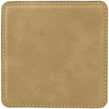 LASERABLE LEATHERETTE ITEMS - COASTER