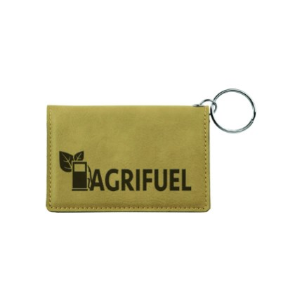 LASERABLE LEATHERETTE ITEMS - KEYCHAIN