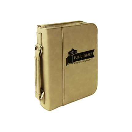 LASERABLE LEATHERETTE ITEMS - BIBLE COVER