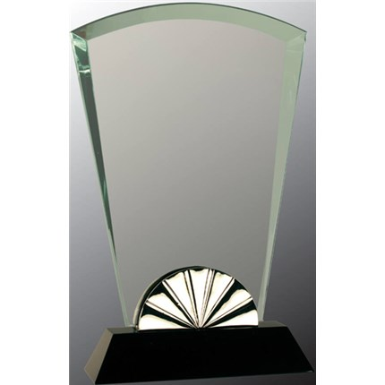 HORIZON GLASS WITH SILVER METAL TRIM
