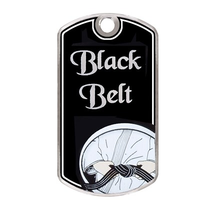 BLACK BEAUTY DOG TAG SERIES - MARTIAL ARTS
