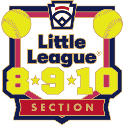 8-9-10 Year Old Softball Pin Series - Section - New Logo