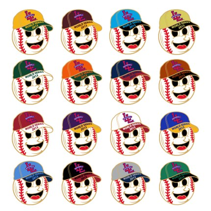 LITTLE LEAGUE WORLD SERIES-BALL GUYS SET - 2013