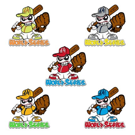 LITTLE LEAGUE WORLD SERIES-GRAFFITI SET - 2014