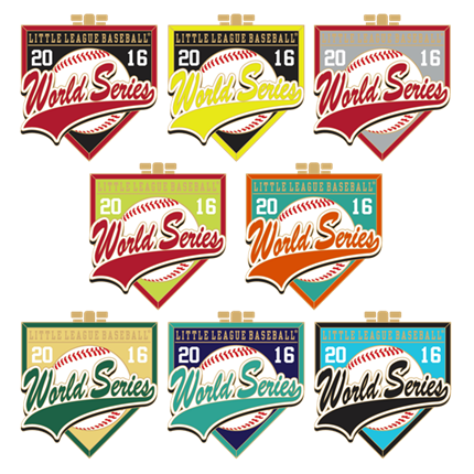 LITTLE LEAGUE WORLD SERIES-INTL. HOME PLATES SET - 2016