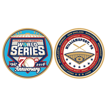 LITTLE LEAGUE WORLD SERIES-WS COIN 2016