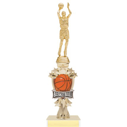 All Star Sport Riser Trophy Series - Basketball