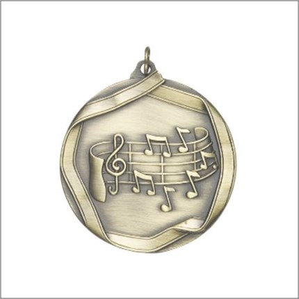 Ribbon Die Cast Series - Music Note