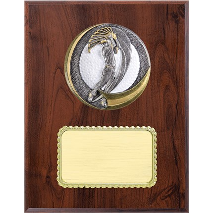 Resin Plaque Series - Golf - Male
