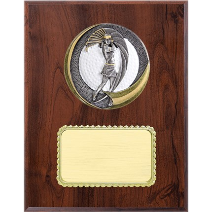 Resin Plaque Series - Golf - Female