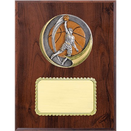 Resin Plaque Series - Basketball - Male