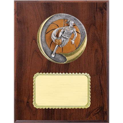 Resin Plaque Series - Basketball - Female