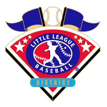 Little League Baseball Tournament Pin Series - District