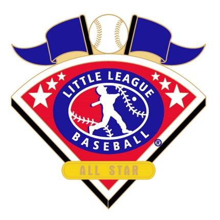 Little League Baseball Tournament Pin Series - All Star