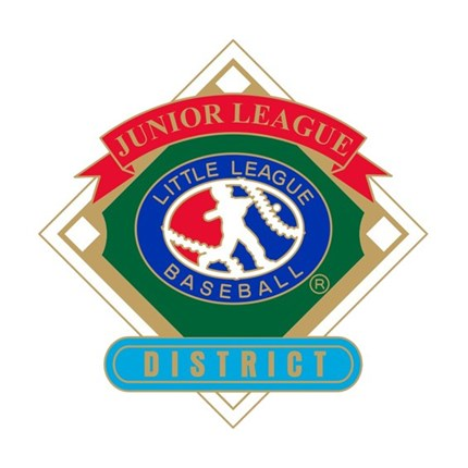 Junior League Baseball Pin Series - District
