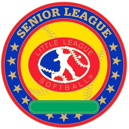 Senior League Softball Pin Series - All Purpose