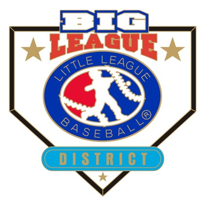 Big League Baseball Pin Series - District