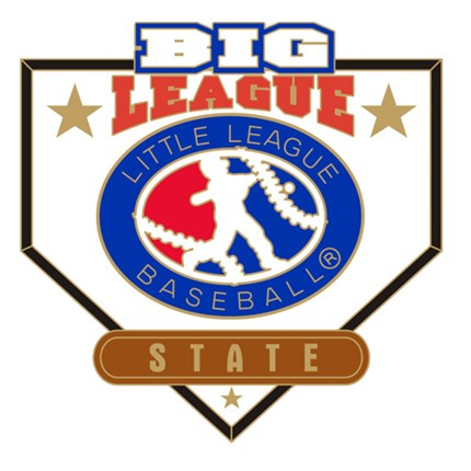 Big League Baseball Pin Series - State