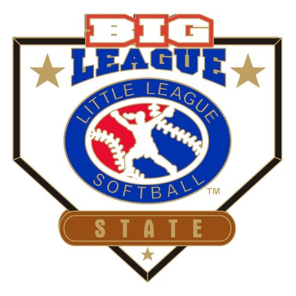 Big League Softball Pin Series - State