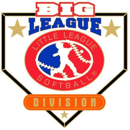 Big League Softball Pin Series - Division