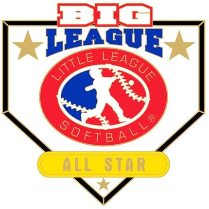 Big League Softball Pin Series - All Star