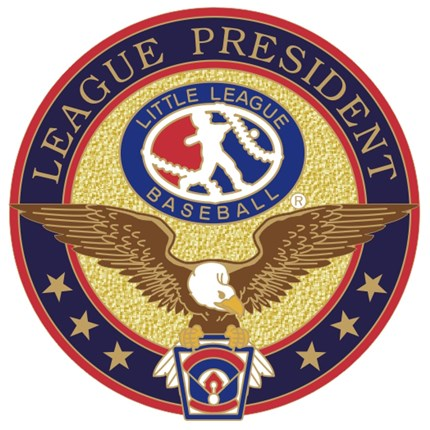 Little League Baseball Pin Series - League President