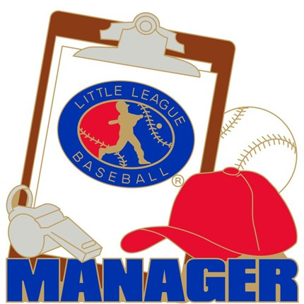 Little League Baseball Pin Series - Manager
