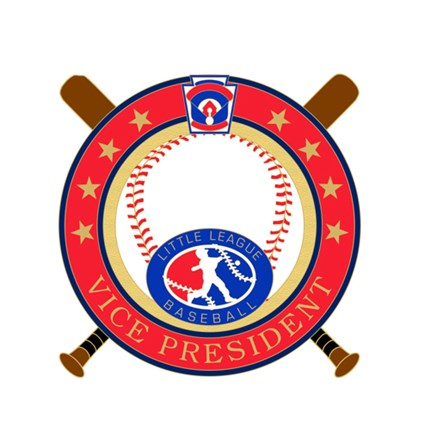 Little League Baseball Pin Series - Vice President