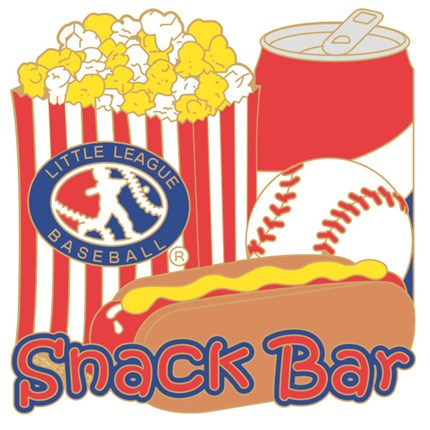 Little League Baseball Pin Series - Snack Bar