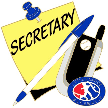 Little League Baseball Pin Series - Secretary