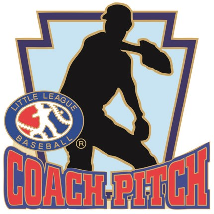 Little League Baseball Pin Series - Coach Pitch