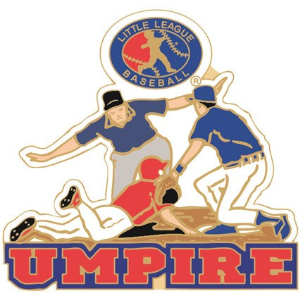 Little League Baseball Pin Series - Umpire