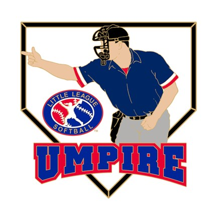 Little League Softball Pin Series - Umpire