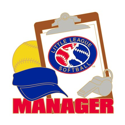Little League Softball Pin Series - Manager